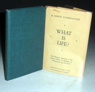 What is Life? The Physical Aspect of the Living Cell. Erwin Schrodinger.