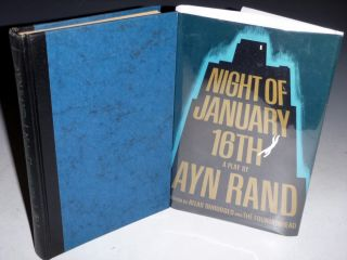 Night of January 16th, a Play. Ayn Rand.