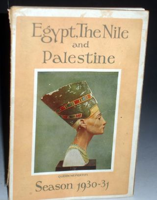 Egypt, the Nile, Sudan, Palestine, and Syria (season, 1930-31)u