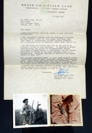 Typed Letter Signed to Neal Knox, Editor of the Rifle, June 10, 1970. Ellis Christian Lenz.