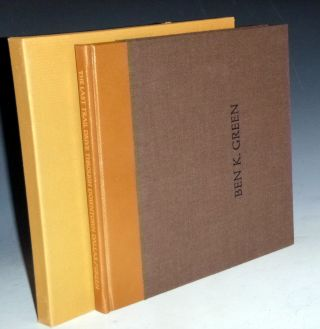 The Last Trail Drive Through Dallas, Signed, Limited to 100 Copies, Slipcase. Ben K. Green