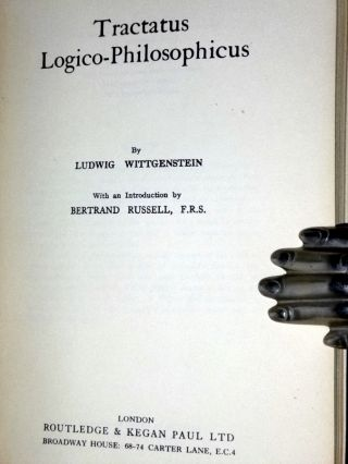 Tractatus Logico-Philosophicus, with an Introduction By Bertrand Russell
