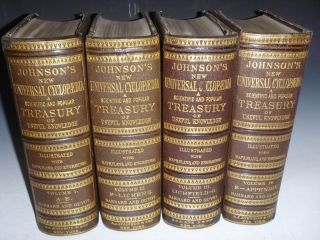 Johnson's New Universal Cyclopaedia: a Scientific and Popular Treasury of Useful Knowledge (in 4...