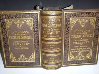 Johnson's New Universal Cyclopaedia: a Scientific and Popular Treasury of Useful Knowledge (in 4 Large volumes)