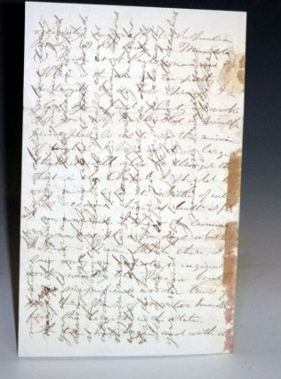 4 Page Autographed Letter Signed, Boston, 1866.