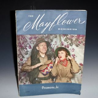 The Mayflower Promenade Magazine (June 1948