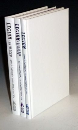 Legion [the Trilogy] Each Volume Signed and Limited