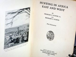 Hunting in Africa East and West
