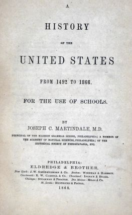 A History of the United States: From 1492-1866