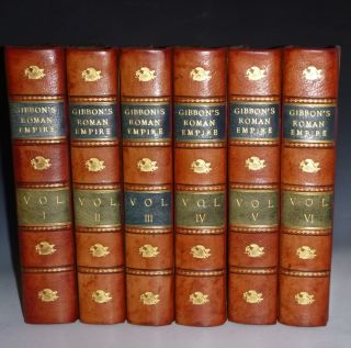 The History of the Decline and Fall of the Roman Empire (6 Volume set). Edward Gibbon