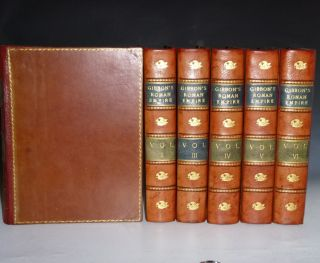 The History of the Decline and Fall of the Roman Empire (6 Volume set)