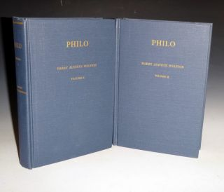 Philo: Foundations of Religious Philosophy in Judaism, Christianity and Islam (2 Volume set)