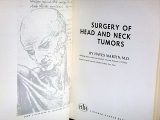 Surgery of Head and Neck Tumors