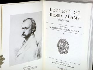The Letters of Henry Adams, 2 Volumes