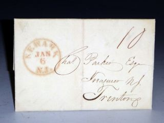 1als, to Charles Parker, State Treasurer, New Jersey (January 2, 1836)