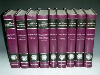 The Cambridge History of Christianity (9 Volume Set