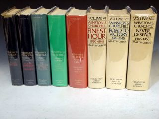 Winston Churchill (8 Volume Set). Martin Gilbert, Randolf S. Churchill