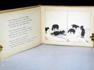 Mother Goose in Black, Mother Goose Rhymes with Silhouette Illustrations