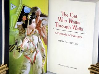 The Cat Who Walks Through Walls: A Comedy of Manners (Signed Limited Edition #269 of 350 Copies).
