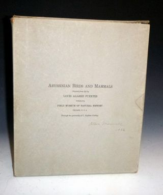 Album of Abyssinian Birds and Mammals